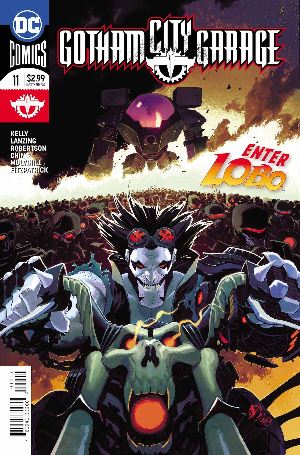 Gotham City Garage #11 cover