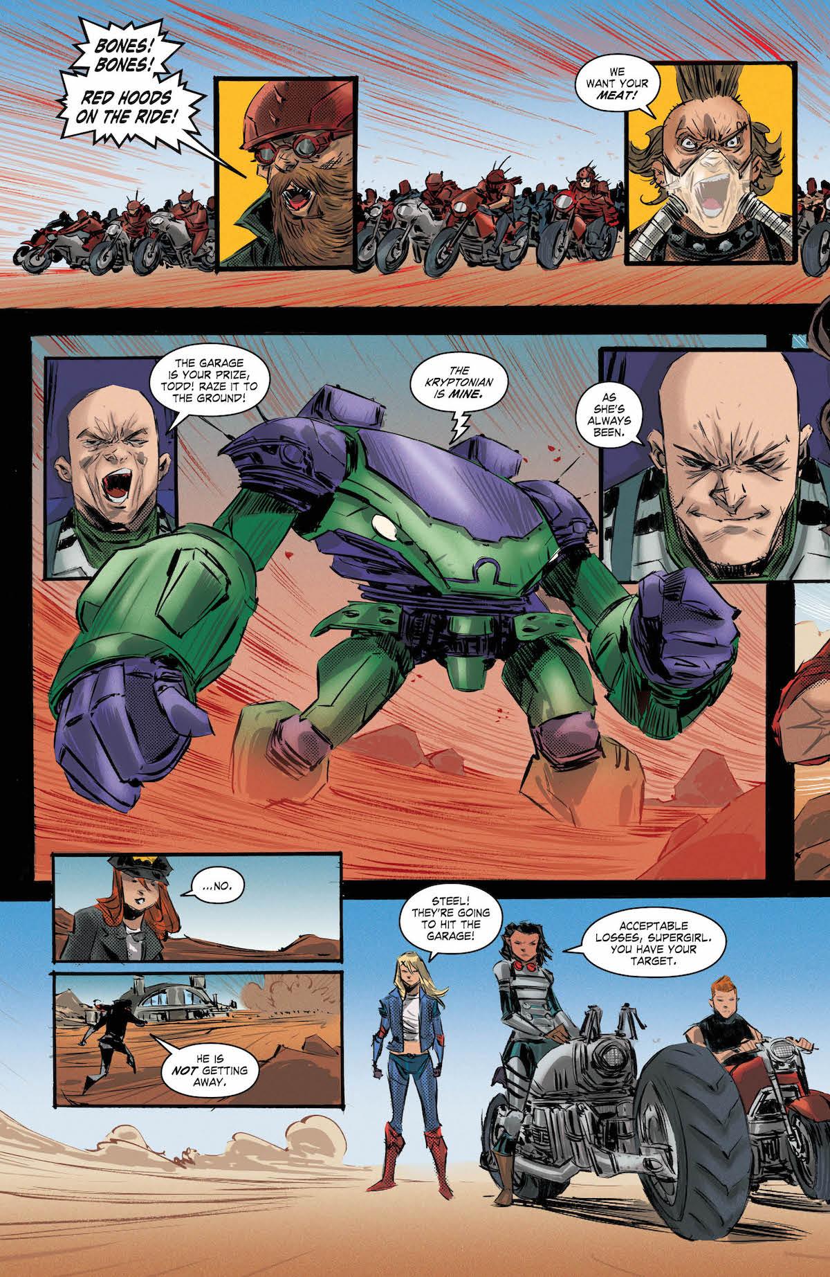 Gotham City Garage #12 page 2