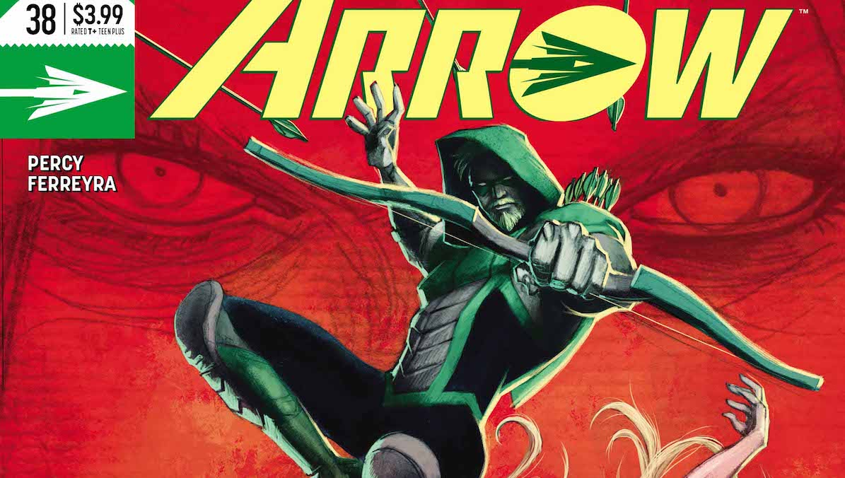 Green Arrow #38 cover