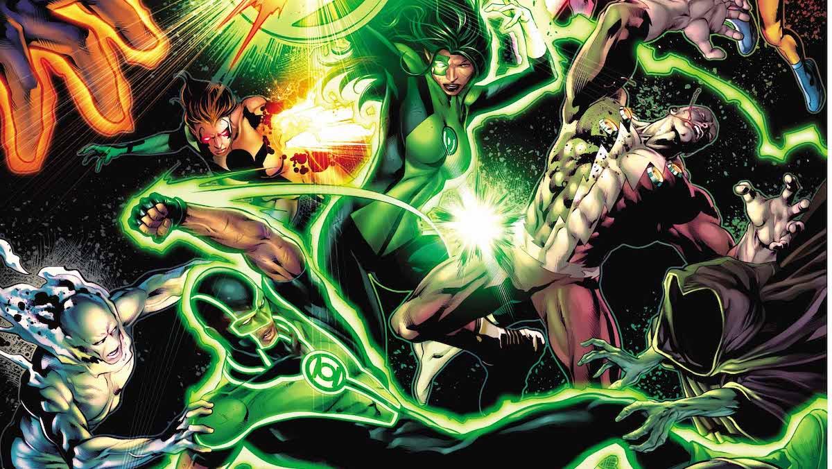 Green Lanterns #43 cover