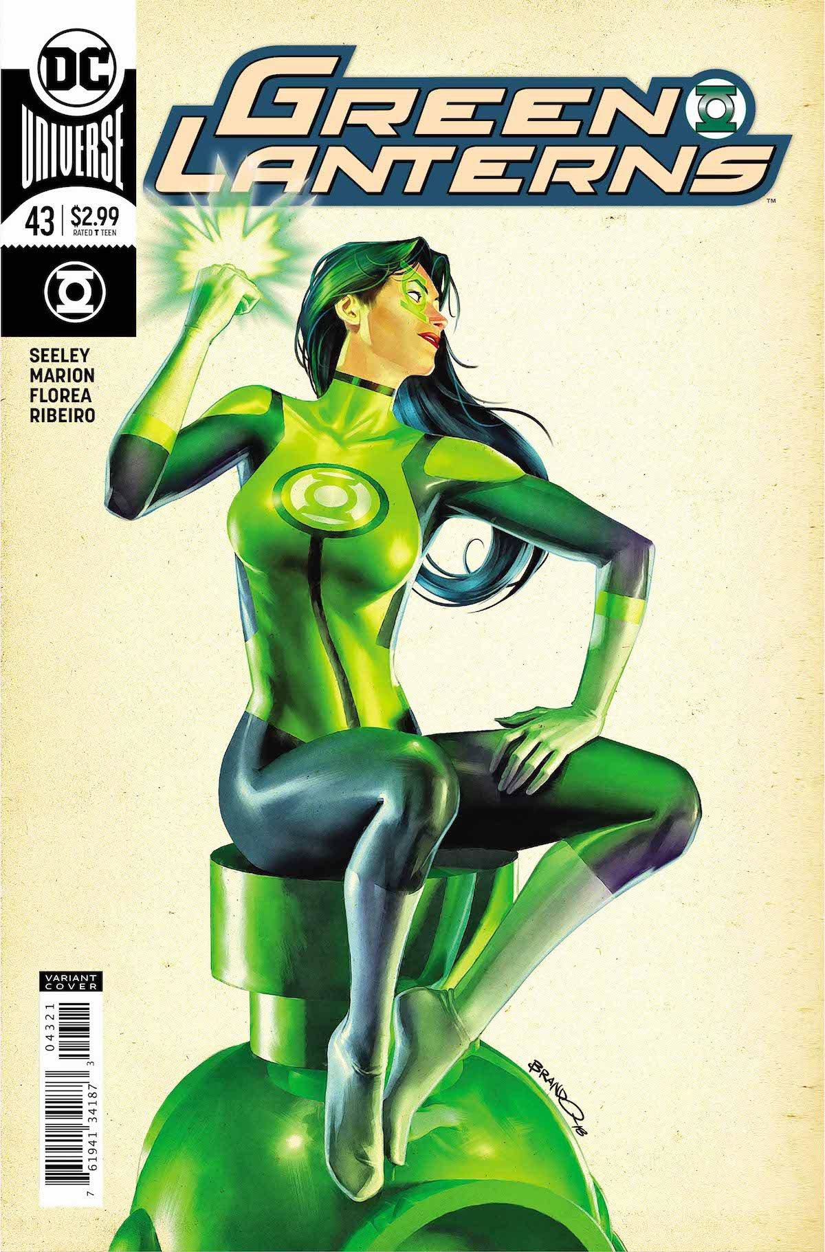 Green Lanterns #43 variant cover