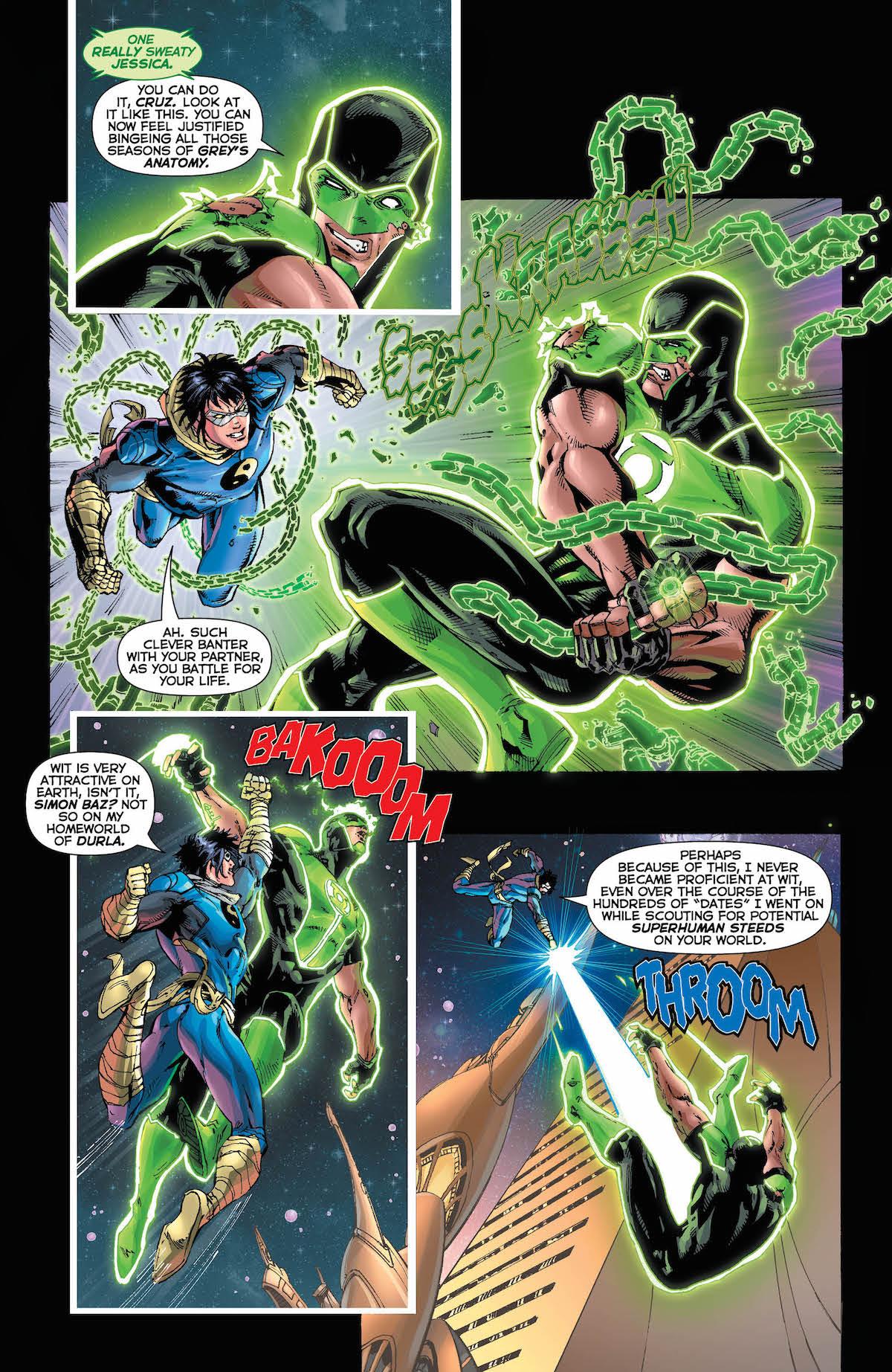 Green Lanterns #43 page