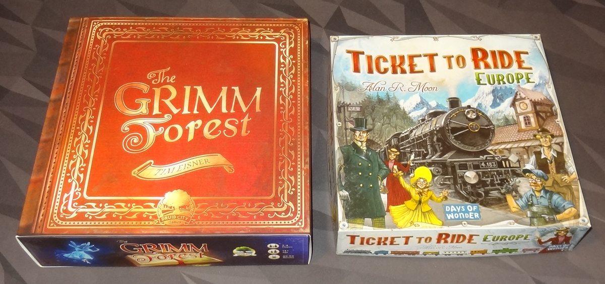 The Grimm Forest box comparison