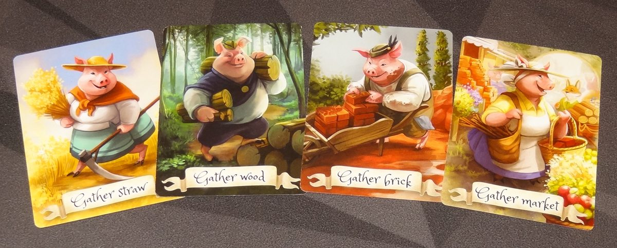 The Grimm Forest gather cards