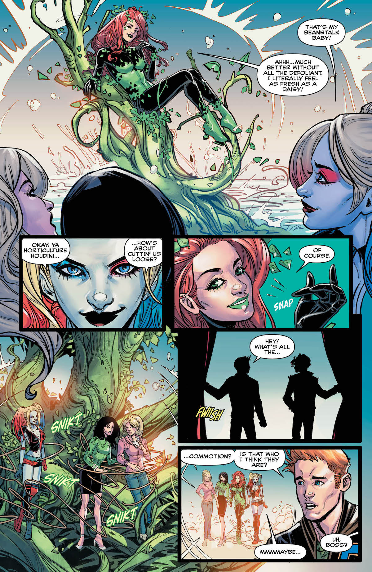 Harley and Ivy Meet Betty and Veronica #6 page 4