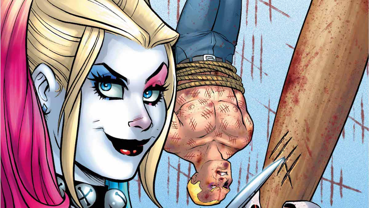 Harley Quinn #39 cover