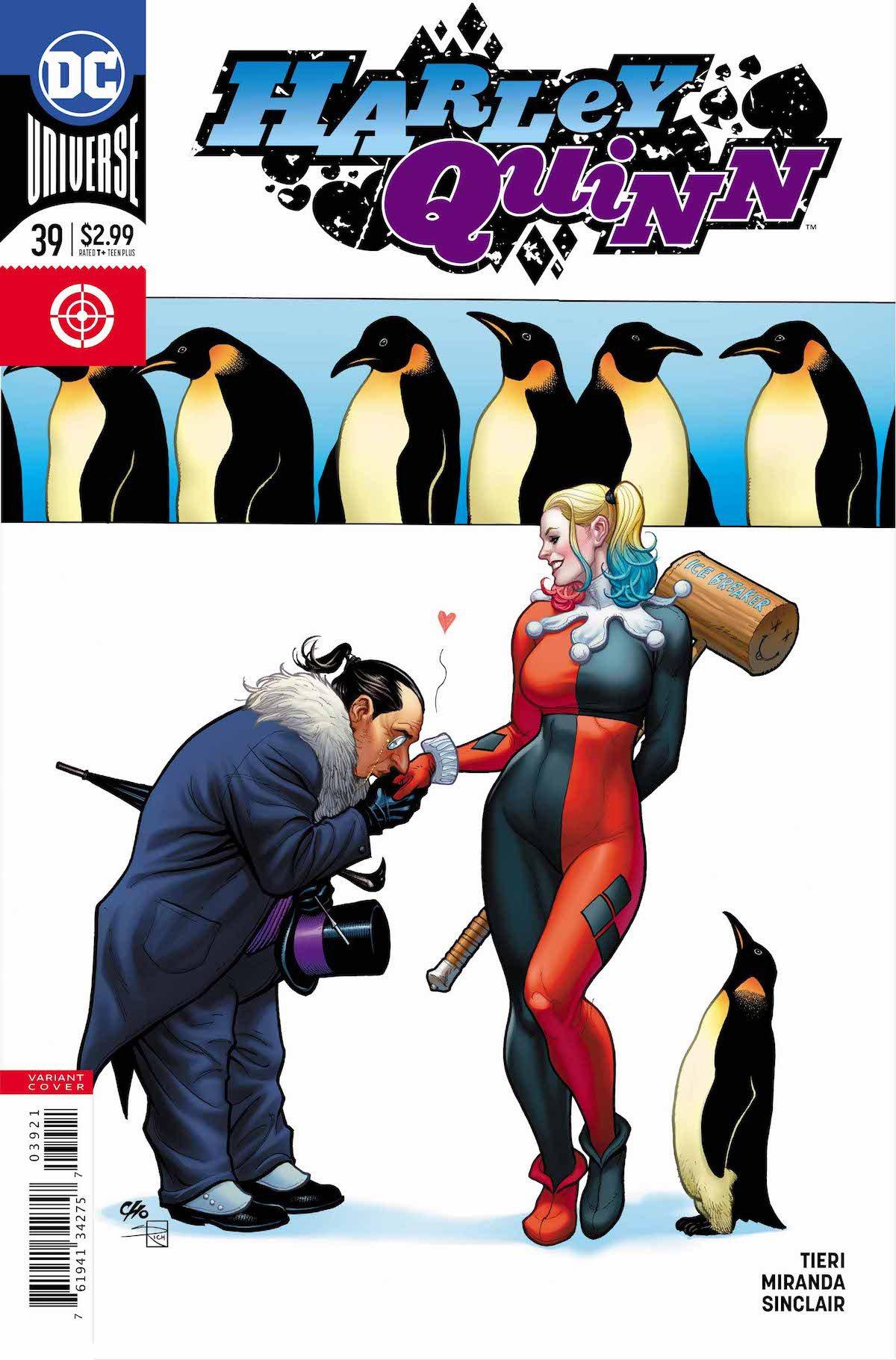 Harley Quinn #39 variant cover