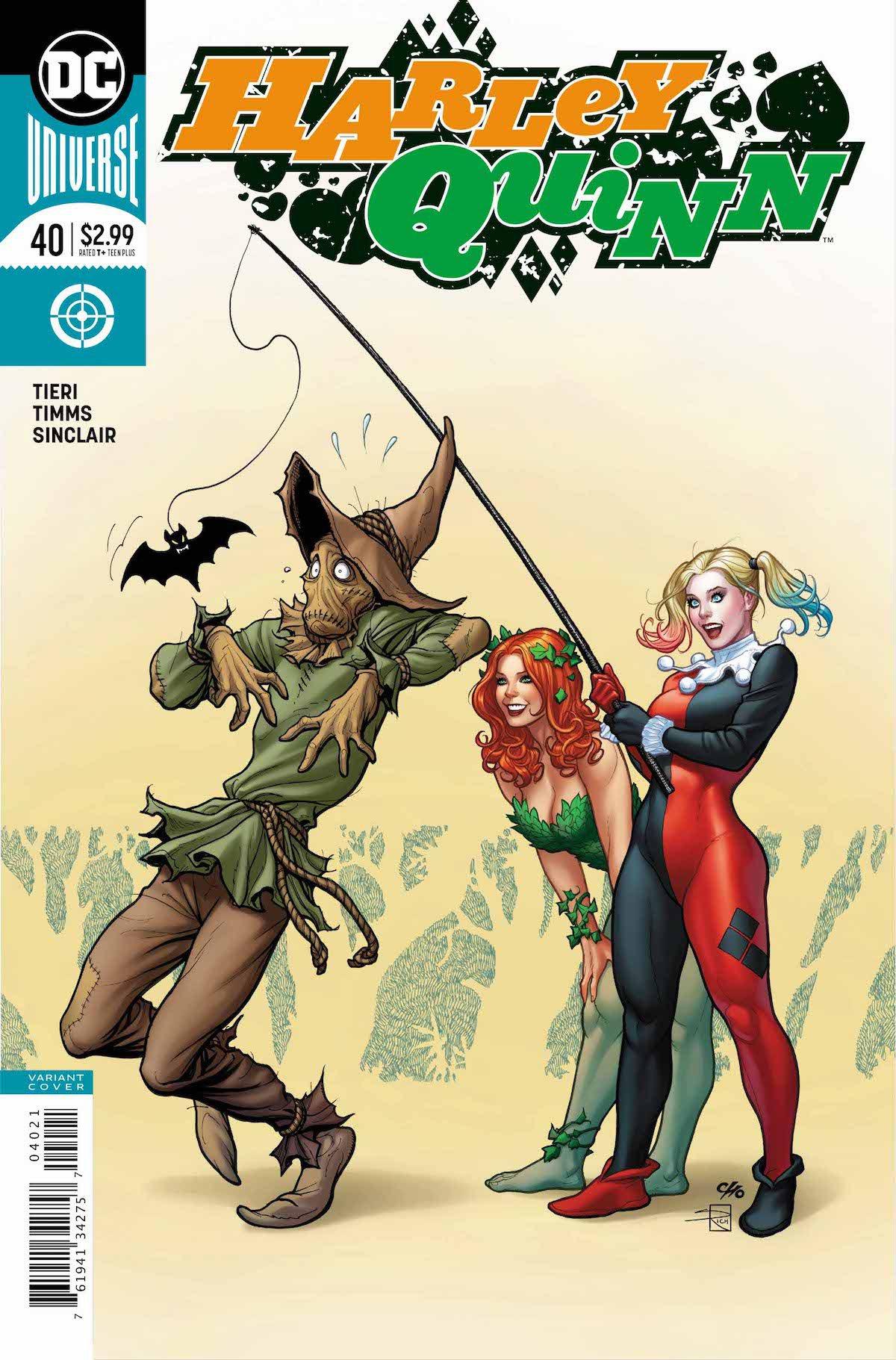 Harley Quinn #40 variant cover