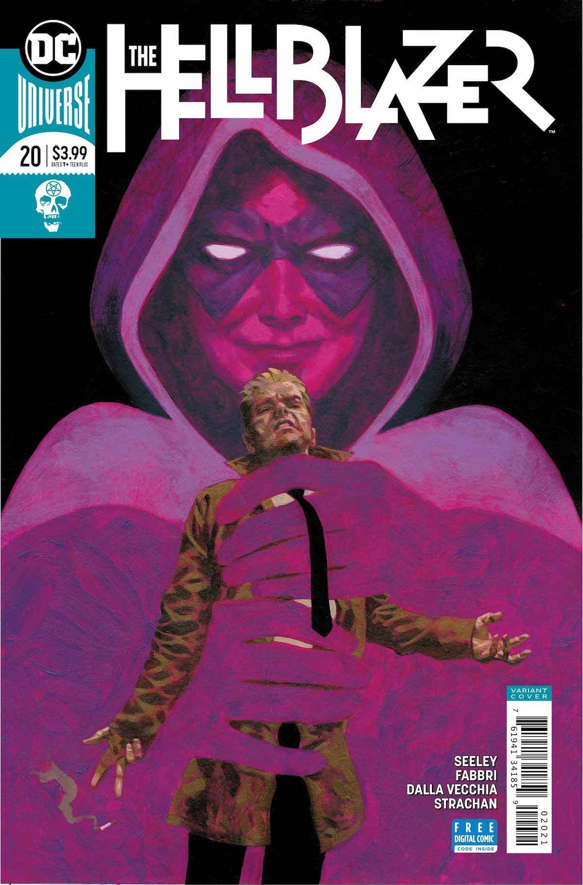 Hellblazer #20 variant cover