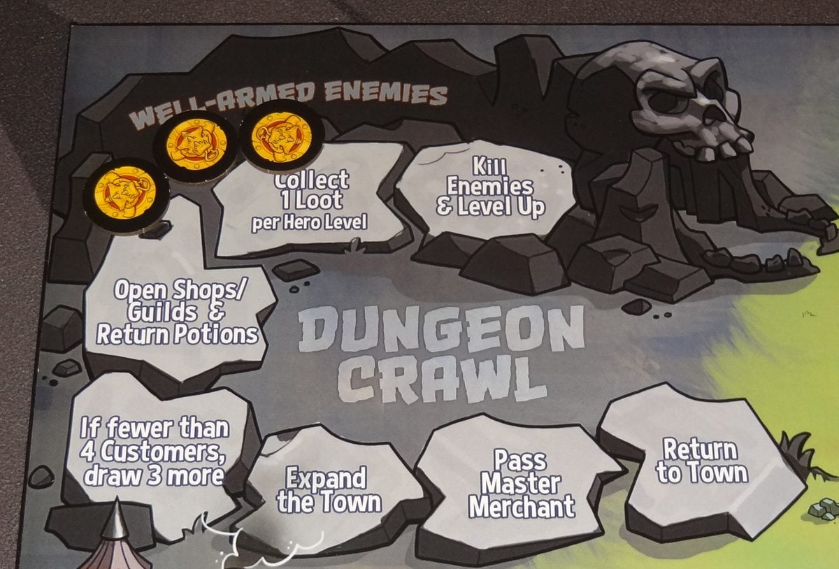 Heroes Welcome Dungeon Crawl
