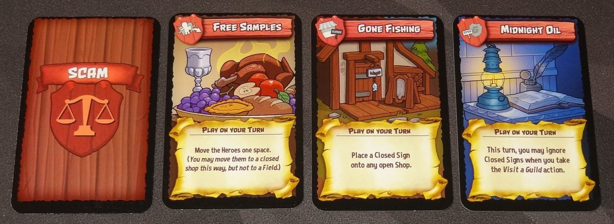 Heroes Welcome scam cards