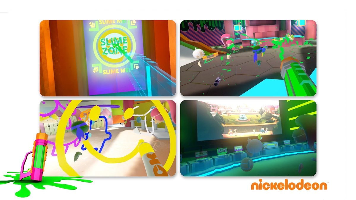 SlimeZone is puts users into a Nickelodeon world at IMAX VR centres.