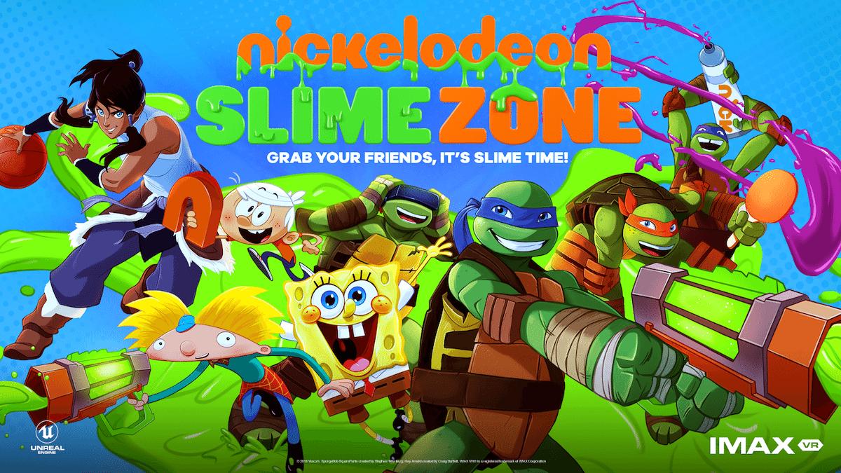 Nickelodeon SlimeZone Banner