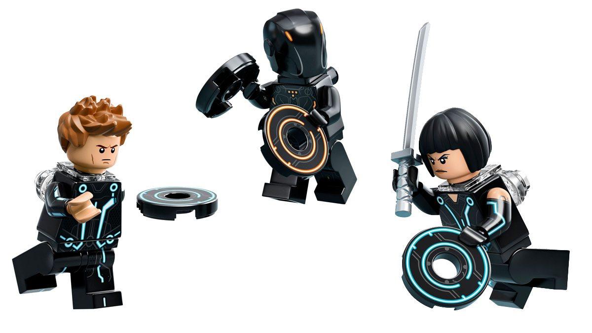 Tron Legacy Lego minifigures