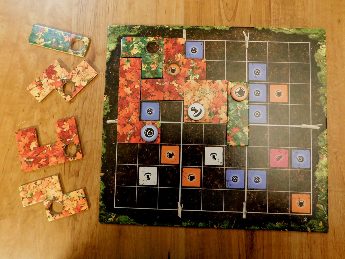 Indian Summer Player Board