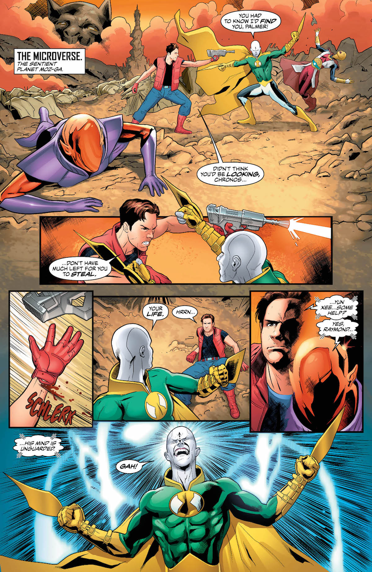 Justice League of America #27 page 1