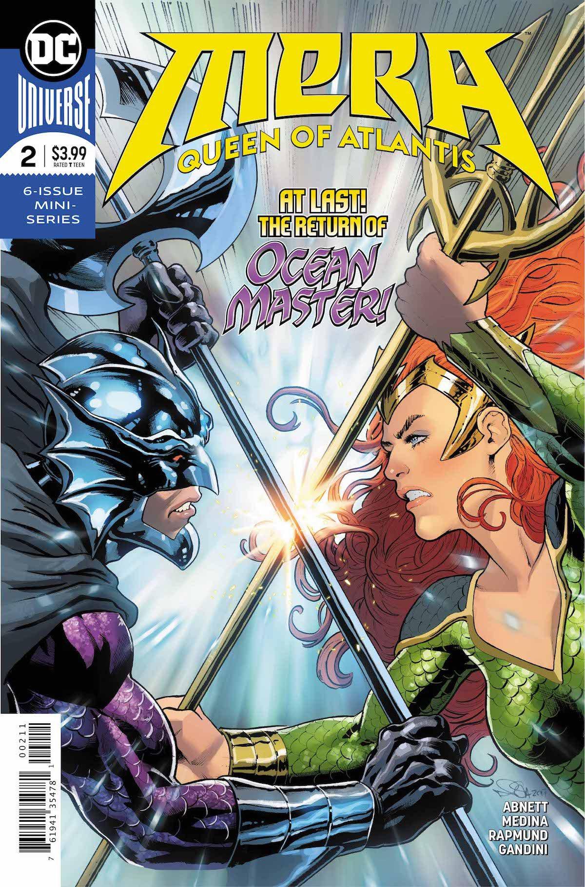 Mera; Queen of Atlantis #2 cover