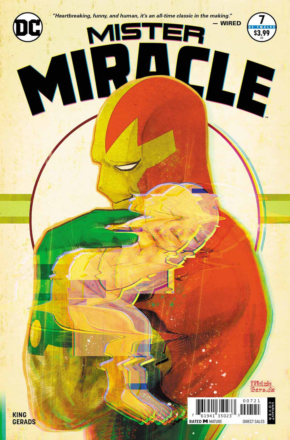 Mister Miracle #7 variant cover
