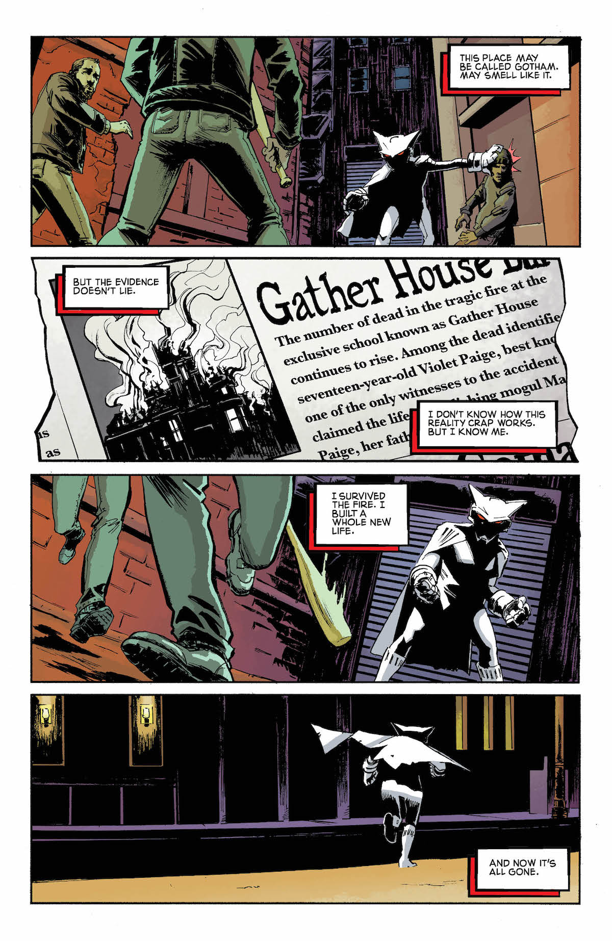 Mother Panic Gotham A.D. #1 page 3