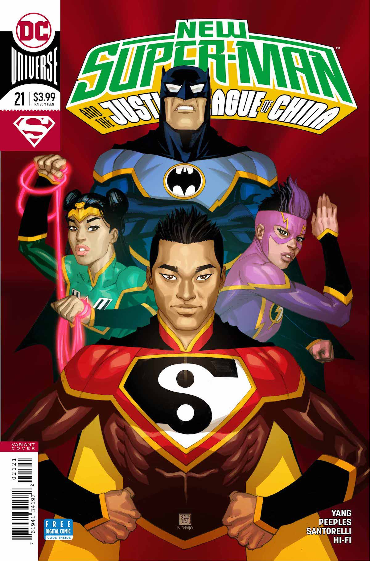 New Super-Man and the Justice League of China #21