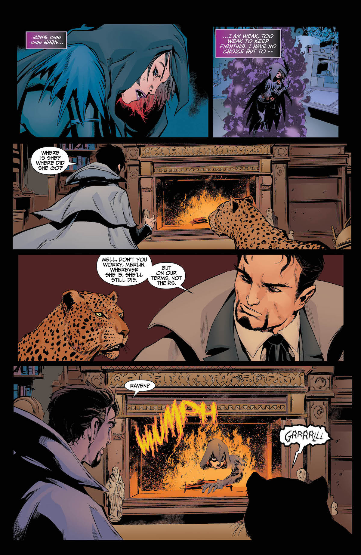 Raven Daughter of Darkness #3 page 5