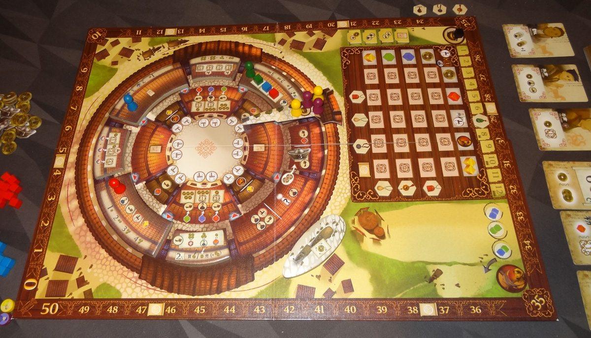 Round House 2-player setup