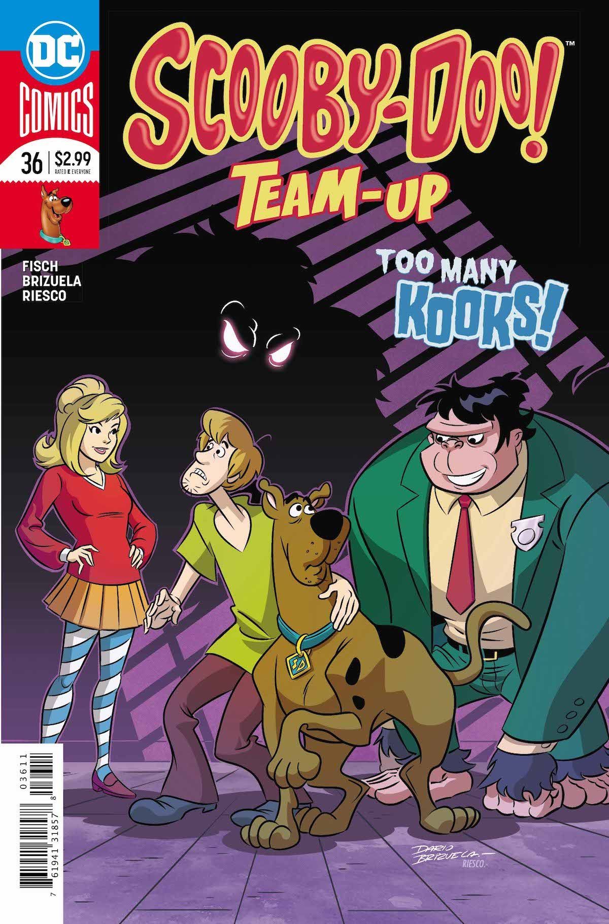 Scooby Doo Team-Up #36 page 1