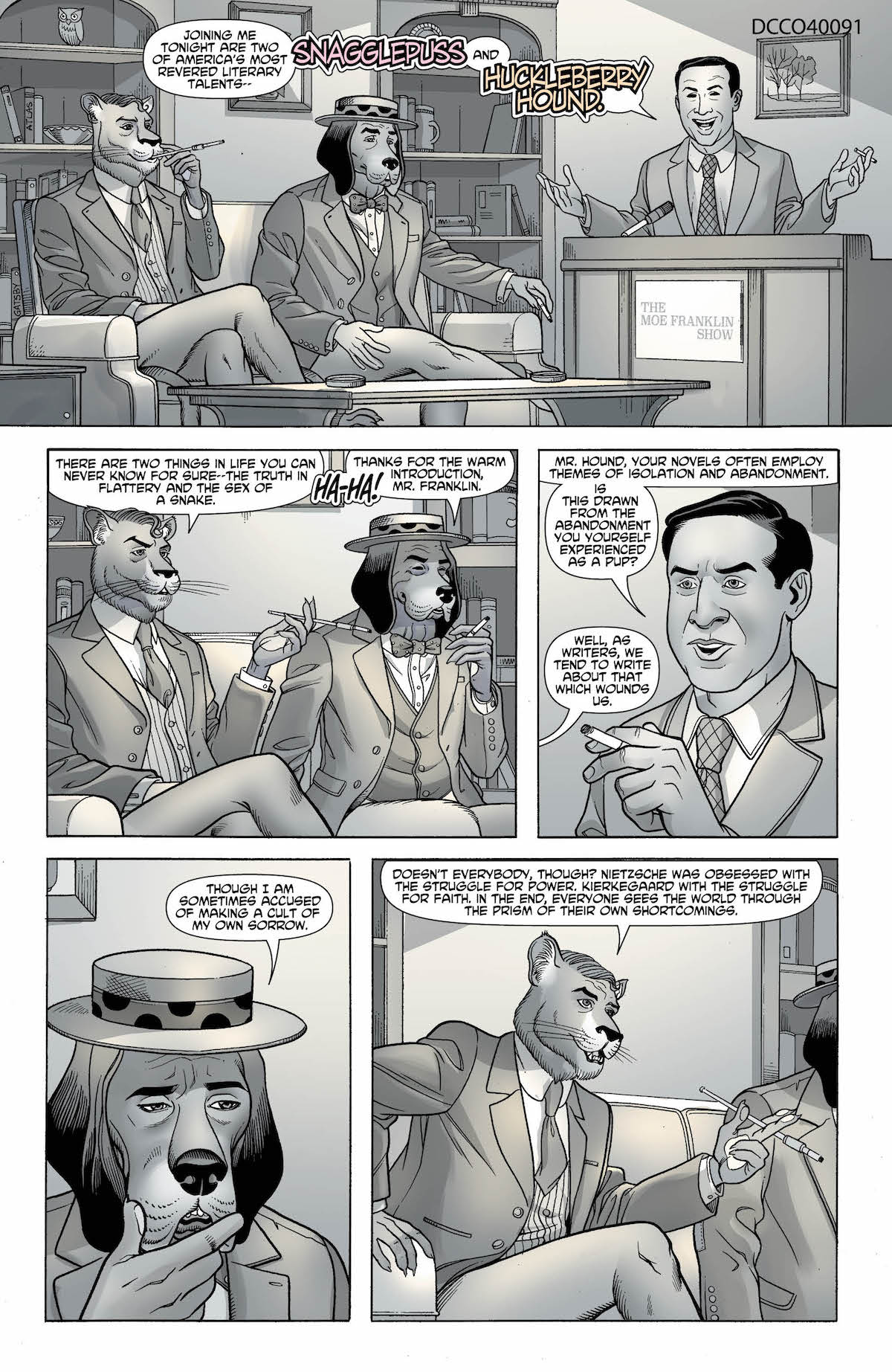 Snagglepuss Chronicles #3 page 1