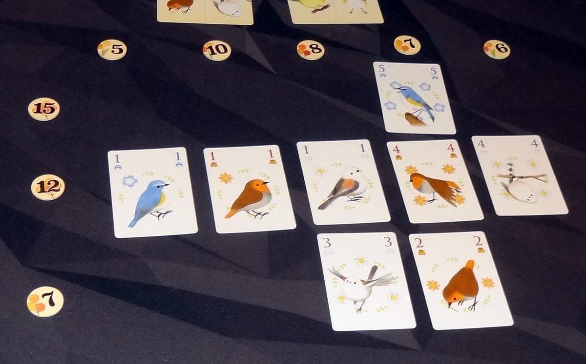 Songbirds game in progress