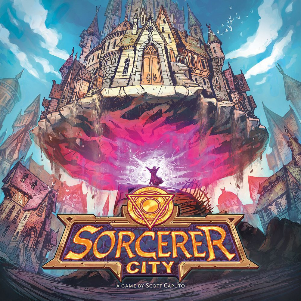 Sorcerer City cover