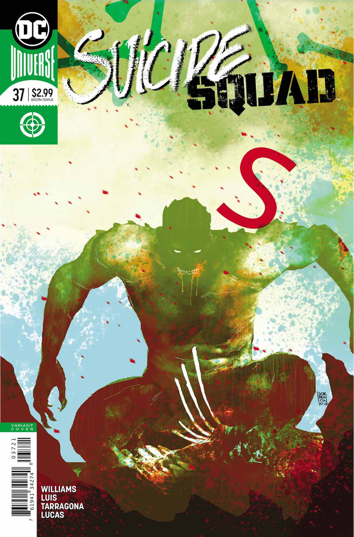 Suicide Squad #37 variant cover