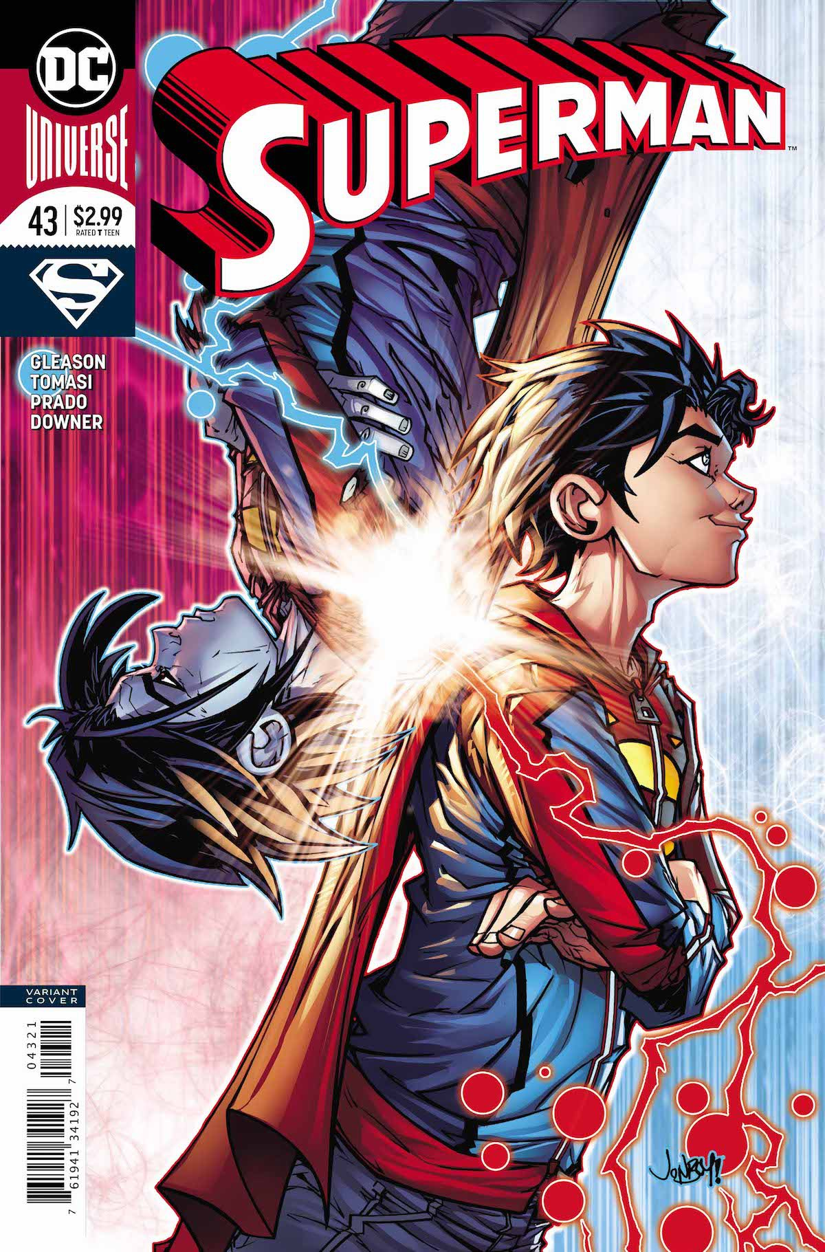 Superman #43 variant cover