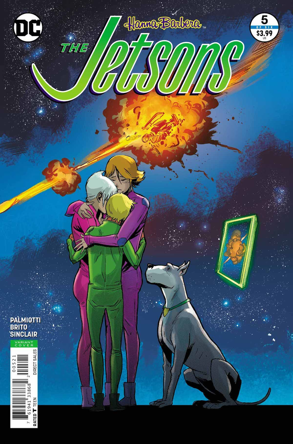 The Jetsons #5 variant cover