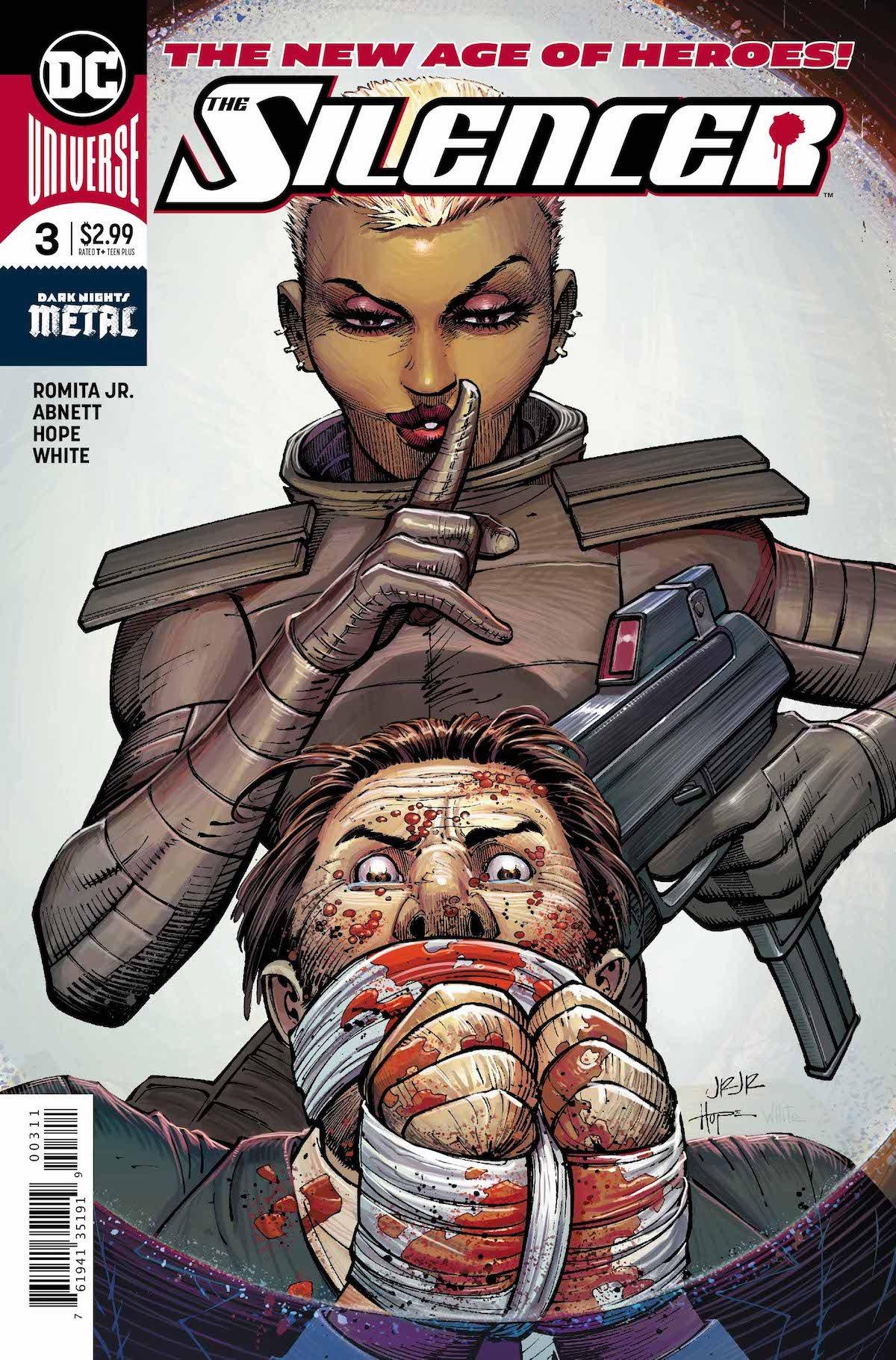 Silencer #3 cover