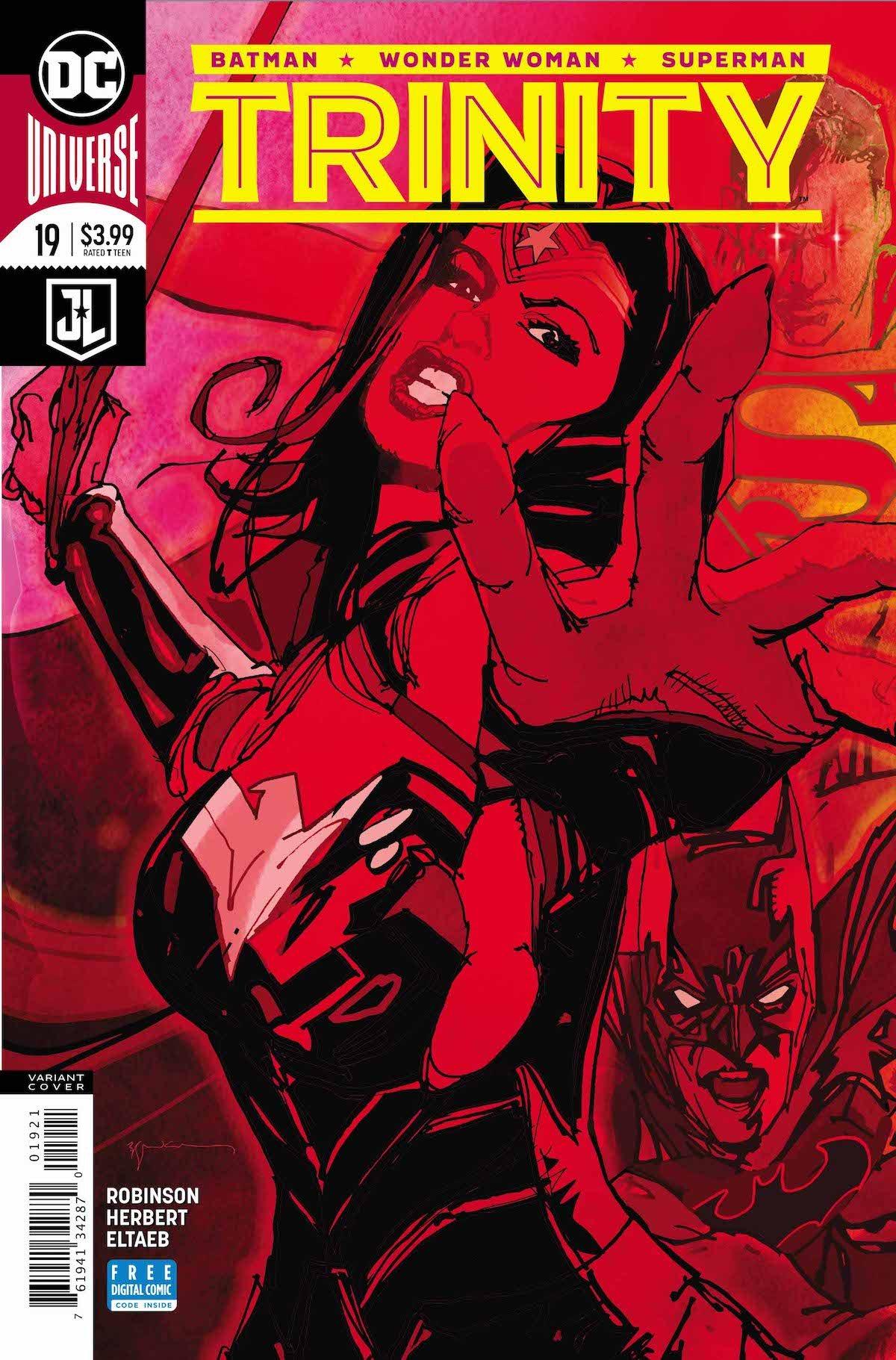Trinity #19 variant cover