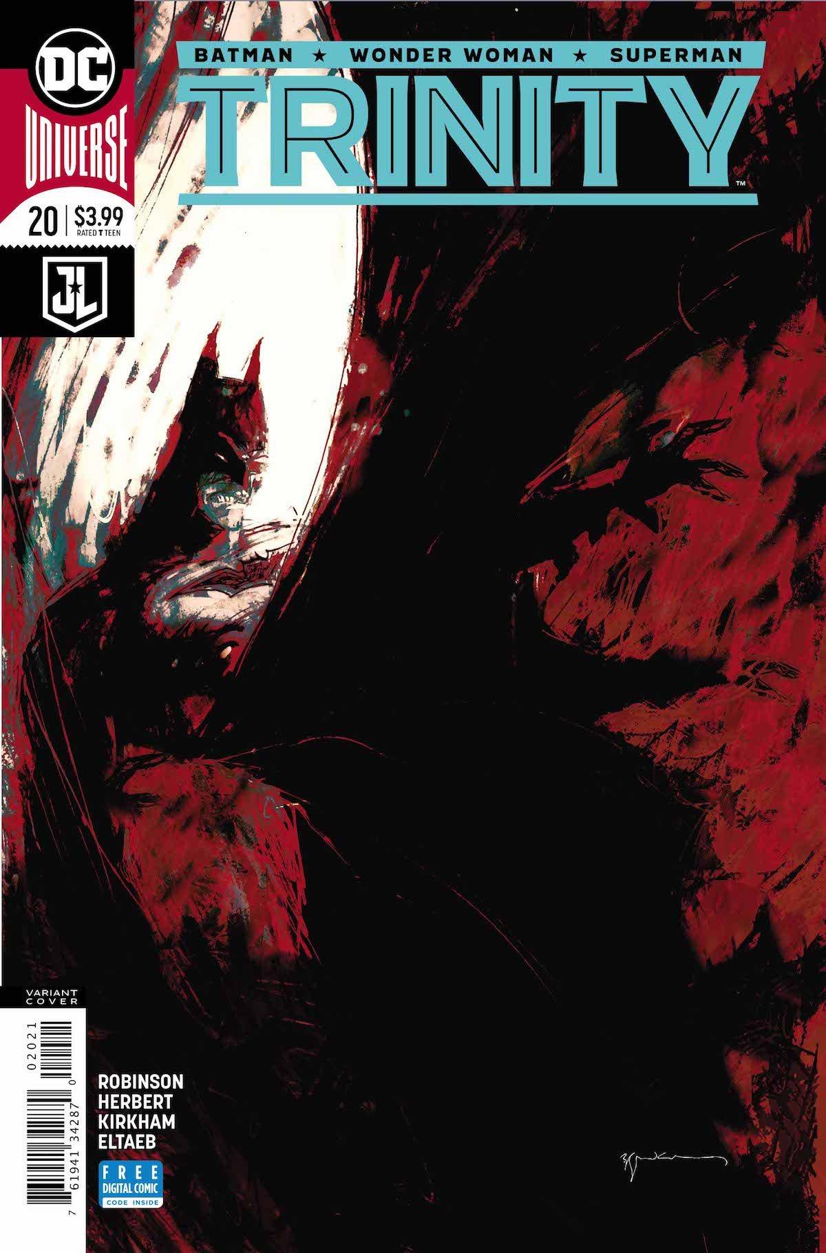 Trinity #20 variant cover