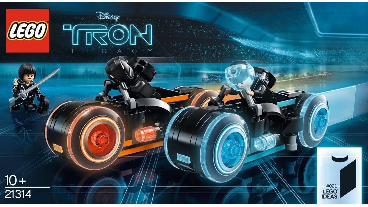 Tron Legacy Lego box art