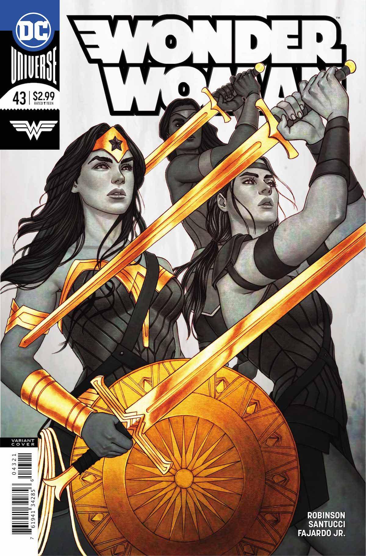 Wonder Woman #43 variant cover