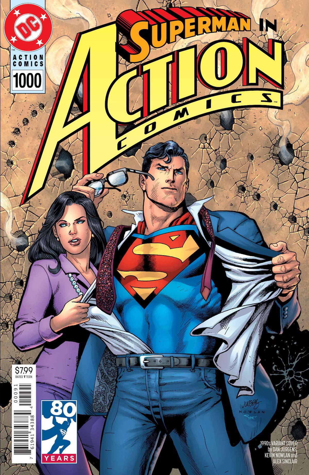 Action Comics 1,000 variant cover