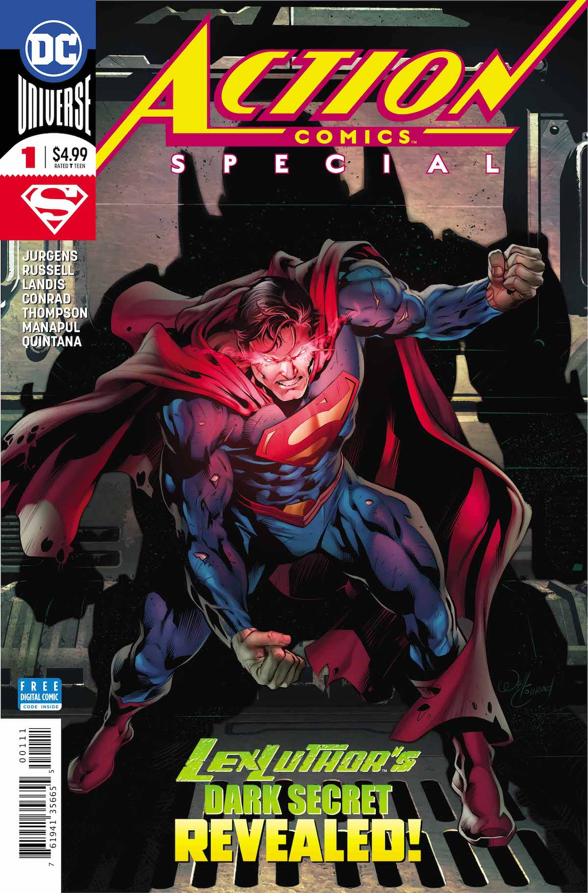 Action Comics Special #1 cover