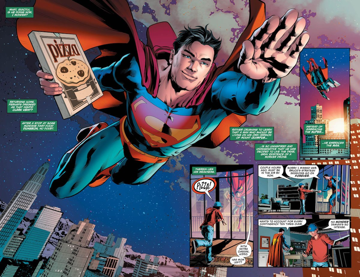 Action Comics Special #1 pages 4-5