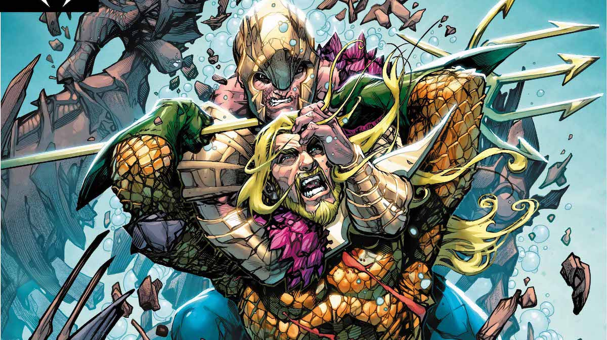 Aquaman #35 cover