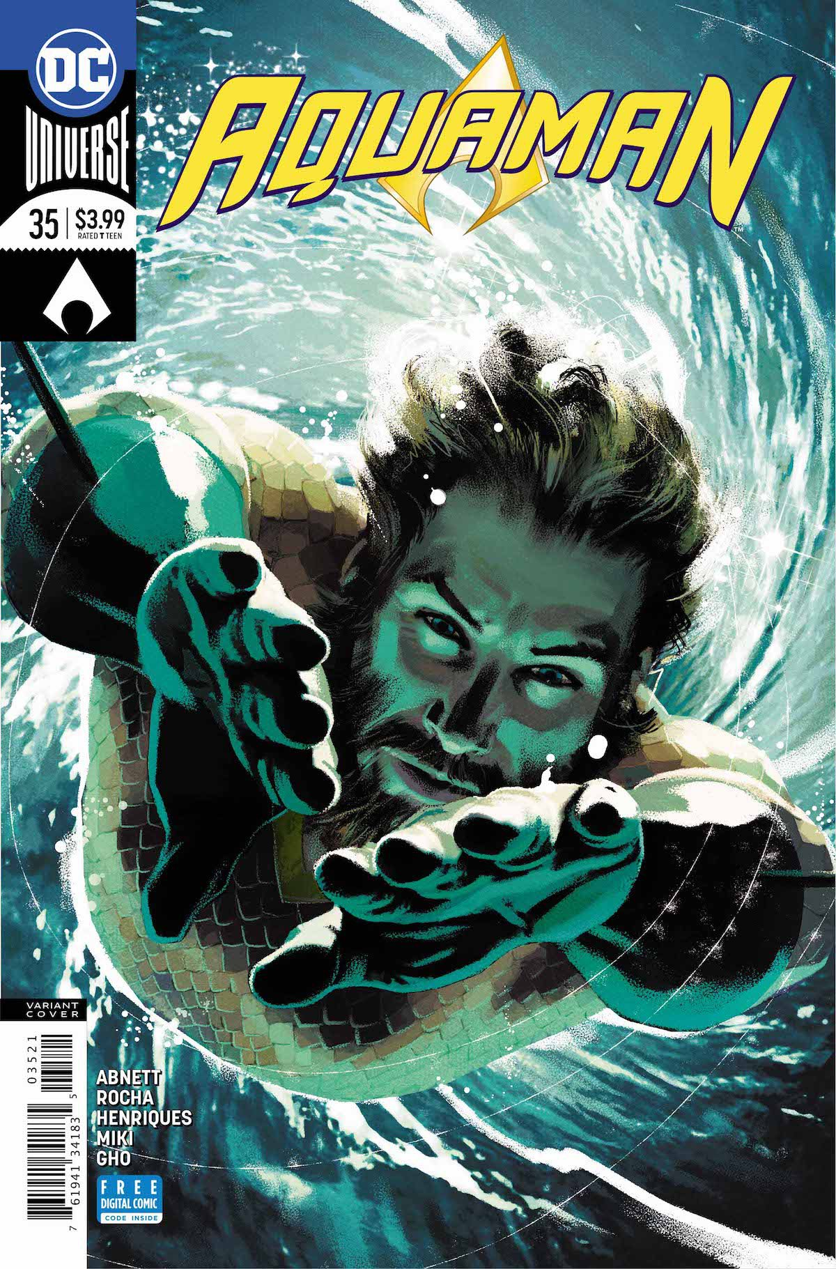 Aquaman #35 variant cover