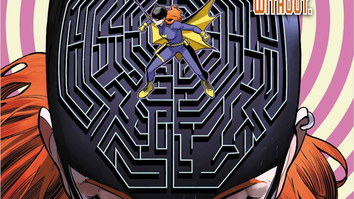 Batgirl #22 cover