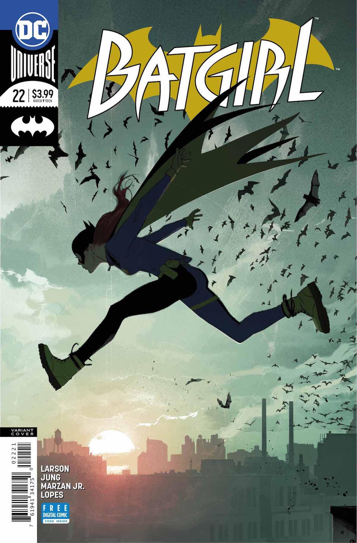 Batgirl #22 variant cover