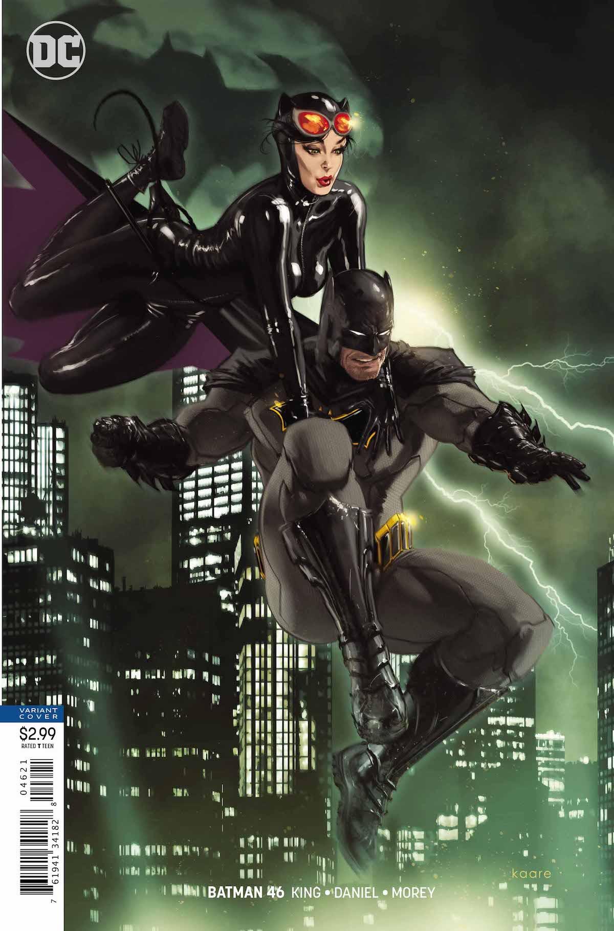Batman #46 variant cover