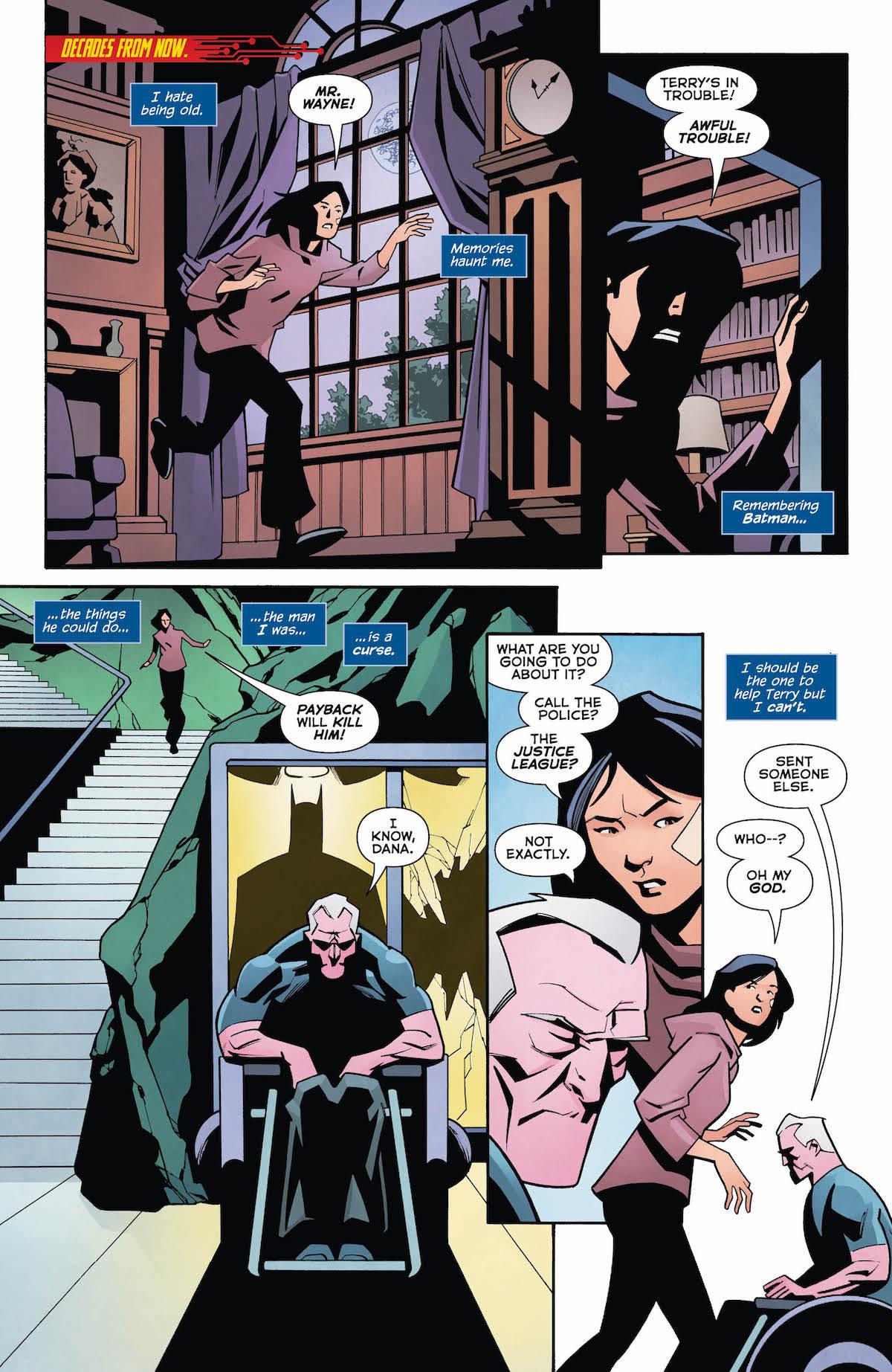 Batman Beyond #19 page 1