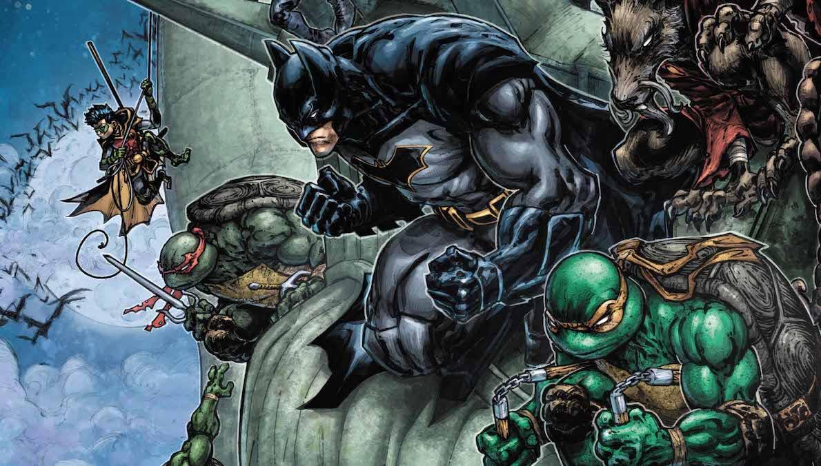 Batman Teenage Mutant Ninja Turtles #6 variant cover