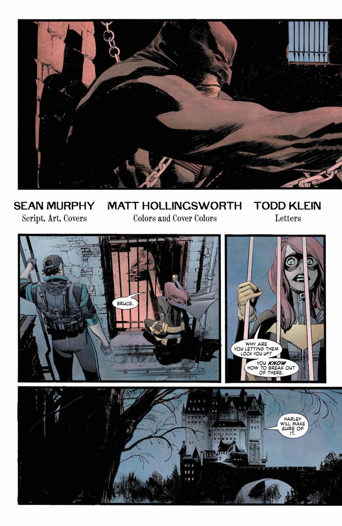 Batman: White Knight #7 page 2