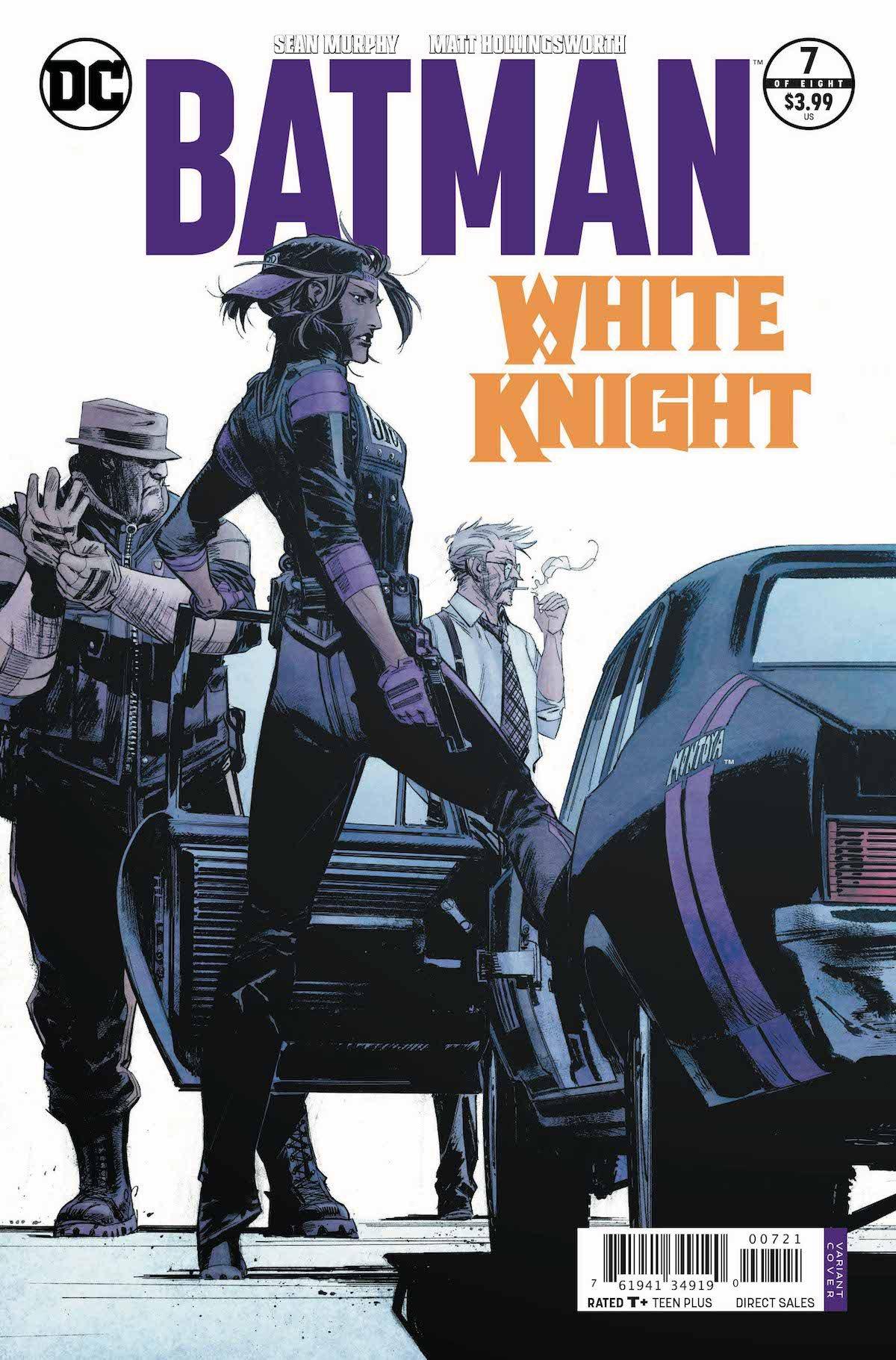 Batman: White Knight #7 variant cover